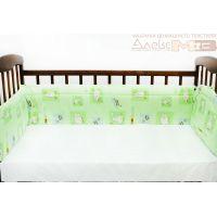 Защита на детскую кровать, мягкий бортик