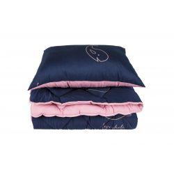 Набор ТЕП Одеяло и подушка Washed Cotton зима антиаллергенное