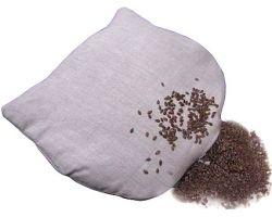 Льняная грелка для детей с семенами льна