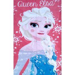 """Полотенце пляжное Холодное сердце """"Queen Elsa"""" Турция 75х150"""