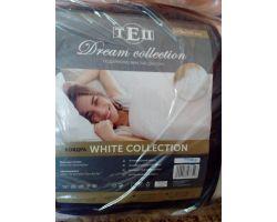 Одеяло ТЕП «White collection» 140х205 холлофайбер демисезонное