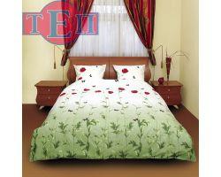 Постельное белье ТЕП 533 «Маки зеленые»