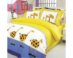 "Постельное белье ТЕП ""Bedding collection"" 604 «Жирафы» бязь"